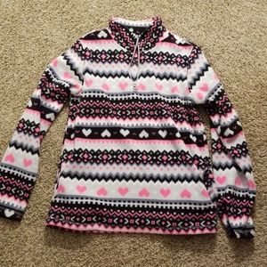 Girls pull over sweatshirt
